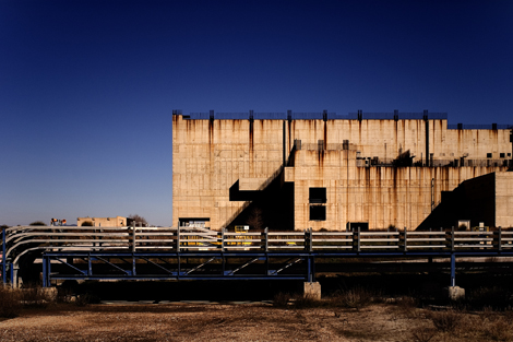 I resti della Centrale Nucleare di Montalto di Castro - © Gianni Galassi