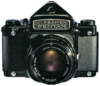 Asahi Pentax 6x7
