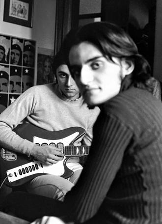 1972 Luca Formenton e Gianni Galassi - Foto di Davide Del Boca